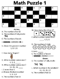 Math Number Puzzles (Numbers 1-20)