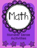 Math Number Sense Activities