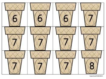 Math: Number Sense Matching Activity