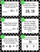 Math Number Sense Task Cards- Grades 2 and 3