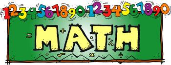 Math Number Sense Word Walls in 10 Languages