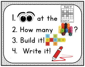 Math Centers: Numbers 1-10  Number Sense, Critical Thinking, Spatial Reasoning