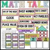 Math Number Talk Bulletin Board Set