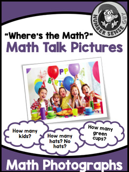 Math Number Talks photographs