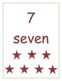 Math Number Wall Cards