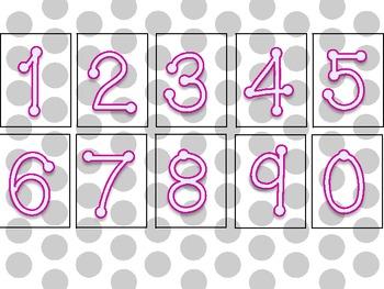 Math Number of the Week Tasks