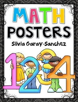 Math Numbers 0-10 and Signs Posters