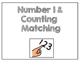 Math Numbers 1 -10 Identical Matching Books
