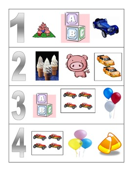 Math Numbers 1-12 Numeracy Centers