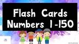 Number Flash Cards 1-150