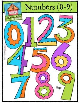 Math Numbers (P4 Clips Trioriginals Digital Clip Art)