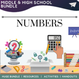 Math Numbers  Resources Activities