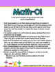 Math-O! A Mental Math Game