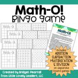 Math-O! A Mental Math Bingo Game