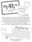 Math-O (Home-School Math Connection)