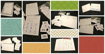Place Value Bingo Games, Place Value Bingo Cards