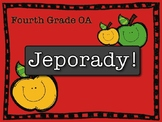 Math OA Jeporady Fourth Grade Review Test Prep Game