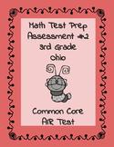 3rd grade Math OHIO Test Prep Assessment #2
