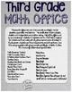 Math Office THIRD Grade