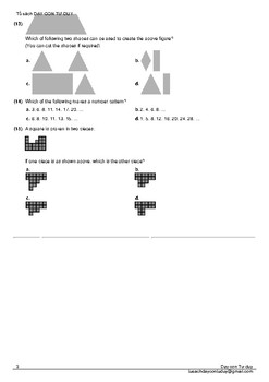 Math Olympiad Challenge prepare - 5 practice test for grade 4