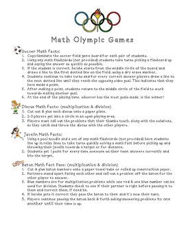 Math Olympic Games