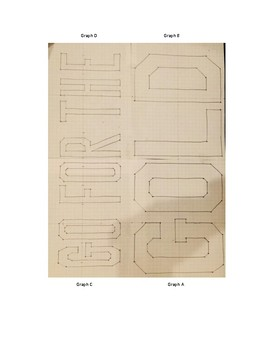 """Math Olympics Coordinate Grid Graphing Activity """"Go For the Gold"""""""