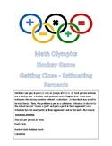 Math Olympics Hockey - Percent Estimation Game