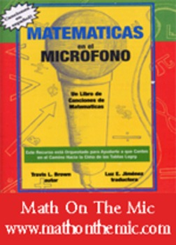 """Math On The Mic Song Book """" Spanish"""""""