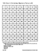 Math: One Hundred 100 Chart Christmas Mystery Pictures (Counting, Number Sense)