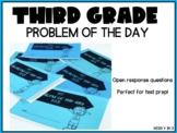 Math Open Response TEST PREP PowerPoint - Problem of the D