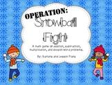 Math Operation Snowball Fight