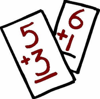 Math Operations Fluency Matching/Memory Game