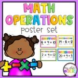 Math Operations Poster Set