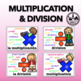 Math Operations Posters - Bilingual - in English & Spanish