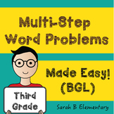 Multi-Step Word Problems (3rd Grade BGL)