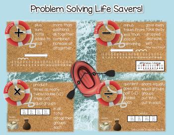 Math Operations - Problem Solving Key Words