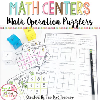 Math Operations Puzzler (Order of Operations) (Fact Fluency)