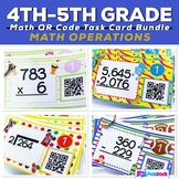 Math Operations QR Code Bundle
