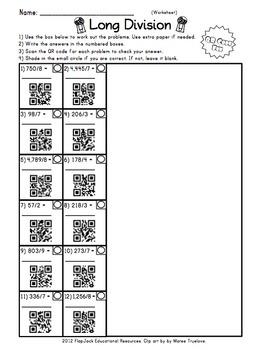 Math Operations QR Code Bundle
