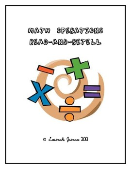 Math Operations Read-and-Retell