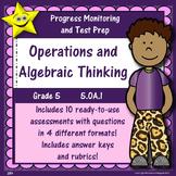 Math Operations and Algebraic Thinking, Grade 5, Part 1 Di