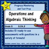 Math Operations and Algebraic Thinking, Grade 5, Part 3 Di