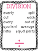 Math Operations and CUBES Posters