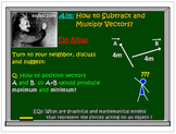 Vectors Operations: Subtraction and Multiplication. Fast Skills Builder!