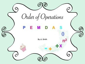 Math Order of Operations: PEMDAS (PDF)