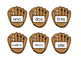 Math Ordering Numbers Game- Baseball Theme