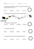 Math Ordinal Numbers worksheet
