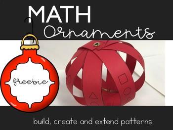 Math Ornaments