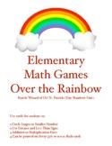 Math Over the Rainbow Printable