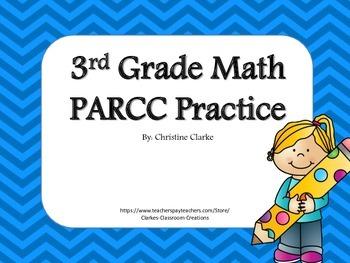 Math Test Prep Practice- 3rd Grade
